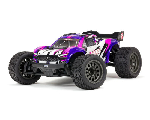 Arrma Vorteks 4X4 3S BLX 1/10th Stadium Truck w/ 2.4GHz Radio (Purple)