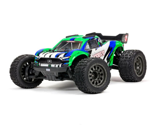 Arrma Vorteks 4X4 3S BLX 1/10th Stadium Truck w/ 2.4GHz Radio (Green)