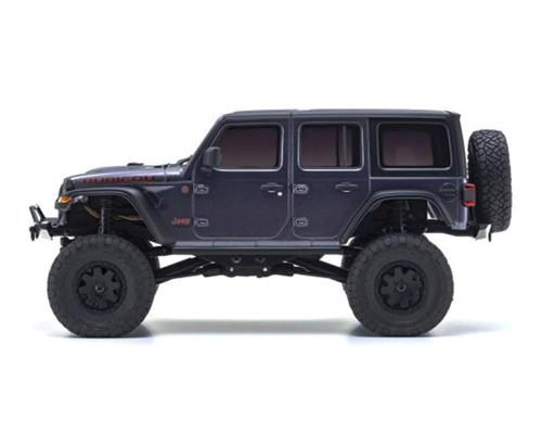 Kyosho Mini-Z 4x4 Jeep Wrangler Unlimited Rubicon, Granite Crystal Metallic, Ready Set