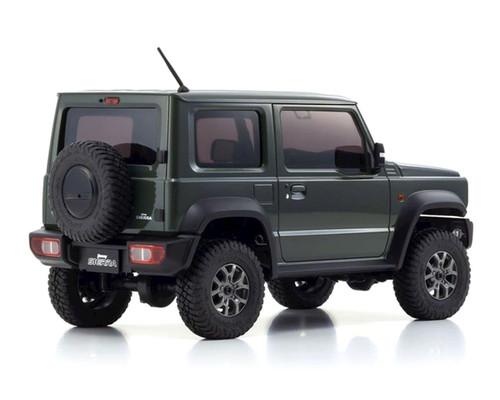 Kyosho Mini-Z 4X4 Suzuki Jimny Sierra, Jungle Green, Ready Set