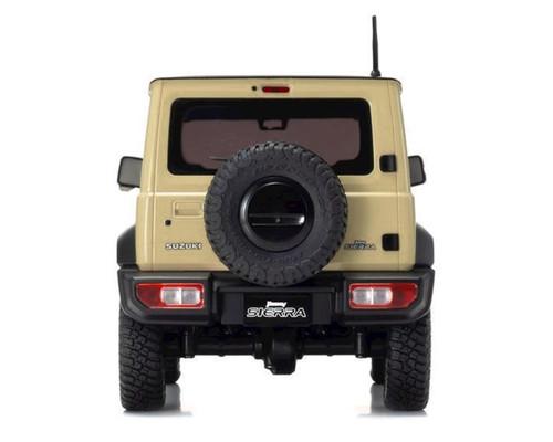 Kyosho Mini-Z 4x4 Suzuki Jimny Sierra, Chiffon Ivory, Ready Set