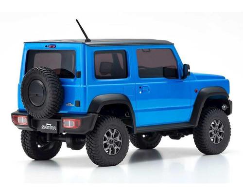 Kyosho Mini-Z 4x4 Suzuki Jimny Sierra, Brisk Blue Metallic, Ready Set