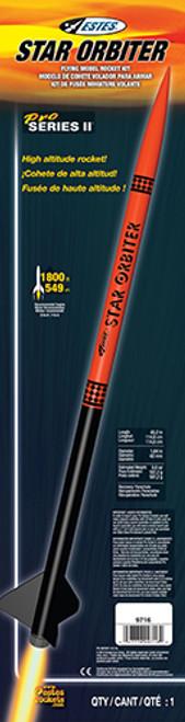 Estes 9716 Star Orbiter Model Rocket Kit, Pro Series II (EST9716)