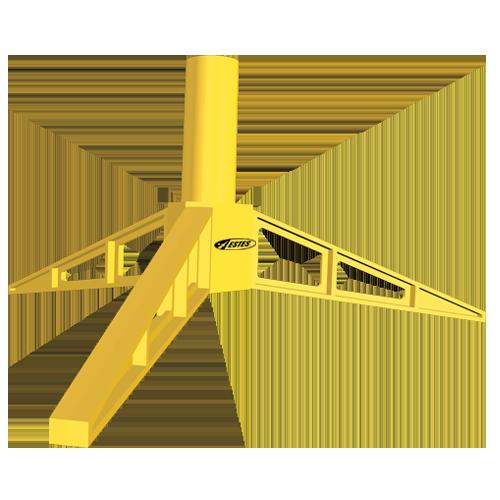 Estes 2290 Mini Engine Model Rocket Display Stand (3pk)
