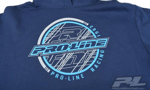 Pro-Line Sphere Navy Hoodie Sweatshirt, Large