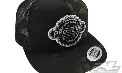 Proline Manufactured Dark Camo Trucker Snapback Hat