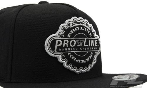 Proline Manufactured Black Snapback Hat