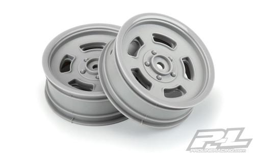 "Proline 2792-05 2WD Slot Mag Drag Spec 2.2"" Front Drag Racing Wheels (Stone Grey) w/12mm Hex"