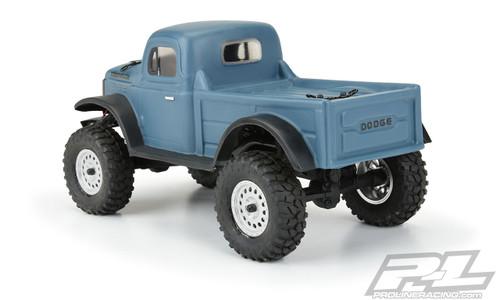 Proline 3565-00 1946 Dodge Power Wagon Clear Body SCX24 JLU