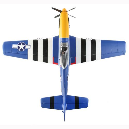 E-flite P-51D Mustang 1.5m BNF Basic w/Smart ESC & AR637TA (1500mm)