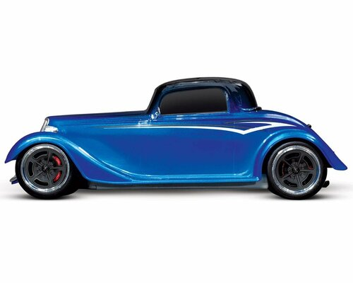 Traxxas 4-Tec 3.0 1/10 RTR Touring Car w/Factory Five '33 Hot Rod Coupe Body (Blue) & TQ 2.4GHz Radio System