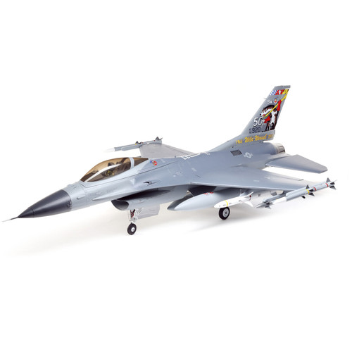 Eflite F-16 Falcon 80mm EDF Jet Smart BNF Basic with SAFE Select, 1000mm