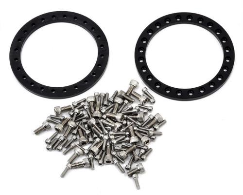 Vanquish 07918 Method 105 1.9 Beadlock Crawler Wheels (Red/Black) (2)