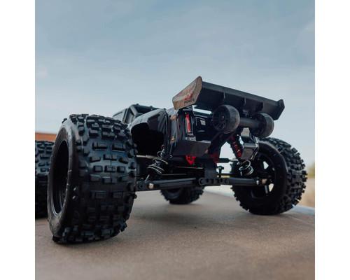 Arrma Talion 6S BLX Brushless RTR 1/8 Extreme Bash 4WD Truggy (Black) w/DX3 Radio, Smart ESC & AVC