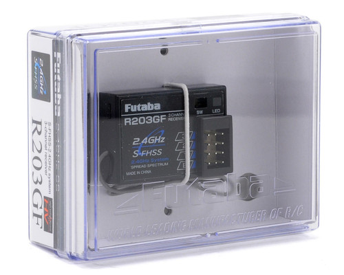 Futaba R203GF 3-Channel 2.4GHz S-FHSS Receiver