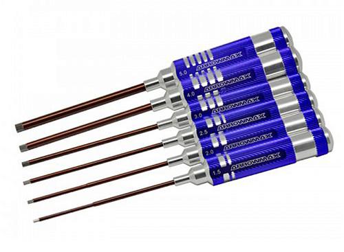 ArrowMax AM110992 Allen Wrench Set 1.5, 2.0, 2.5, 3.0, 4.0 & 5.0 x 120mm