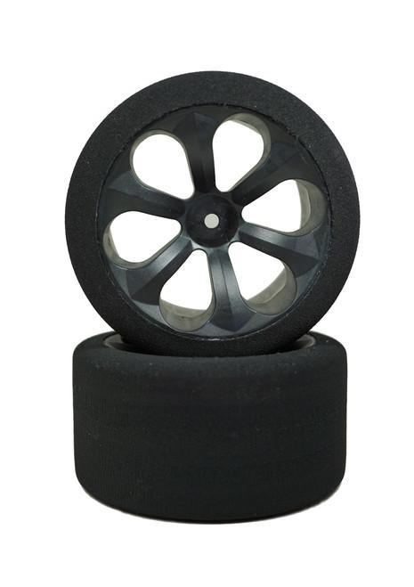 JACO 2055LP Low Profile Foam Tires MudBoss Spec Tires (Purple)