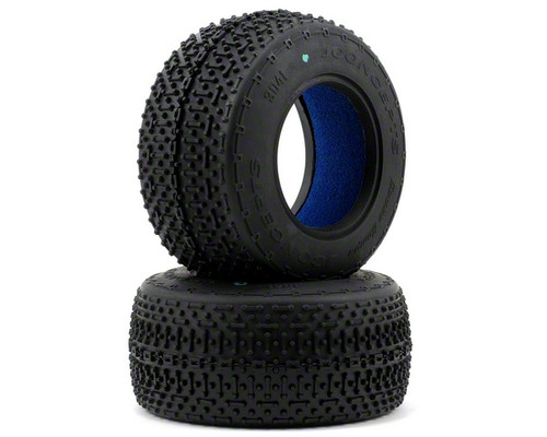 JConcepts 3041-02 JConcepts Goose Bumps Short Course Tires (Green) Super Soft