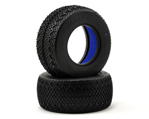 JConcepts 3061-01 3D's Short Course Tires (Soft) Blue (2)