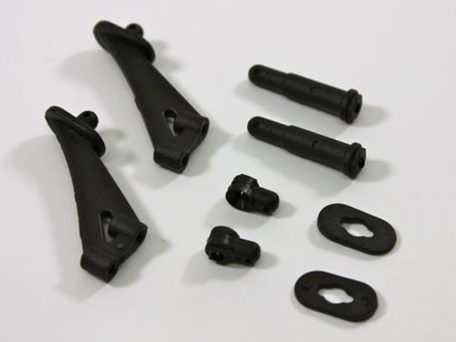 Racers Edge Wing Mount, Battery Post and Lower Body Post Switchback Buggy