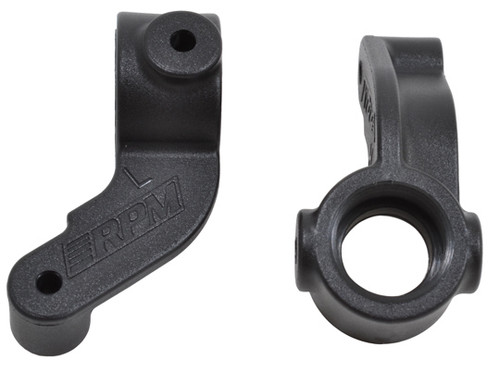 RPM 73292 Over Size Front Spindle Blocks  ECX 2wd (2); Black