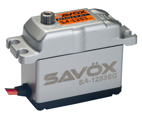 Savox SAVSA1283SG Super Torque Steel Gear Digital Servo Full Aluminum Case