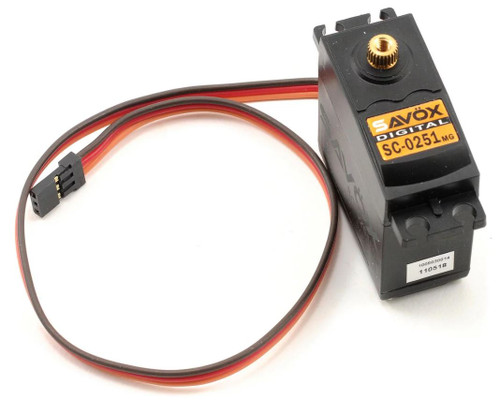 Savox Standard High Torque Metal Gear Digital Servo