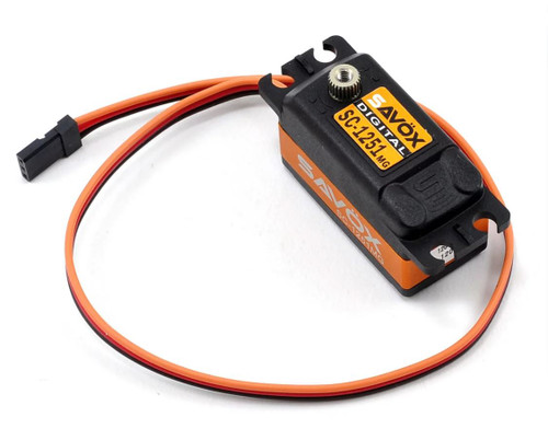 Savox SAVSC1251MG Low Profile High Speed Metal Gear Digital Servo
