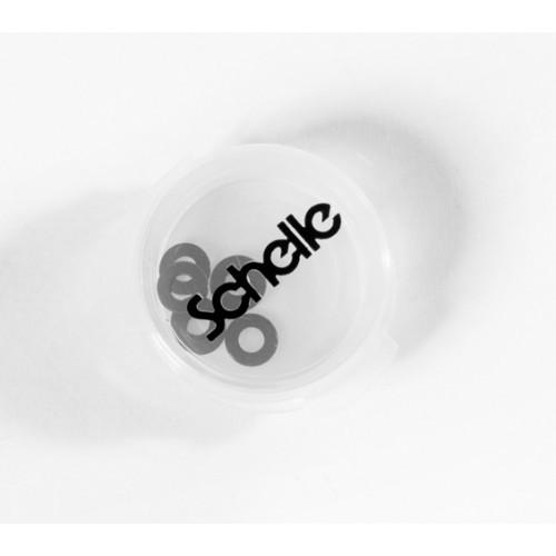 Schelle Racing SCH1210 0.5mm Black Ballstud Washer Set, 6 pcs