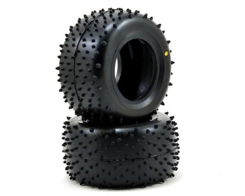 "Schumacher Racing ""Mini Spike"" 2.2 1/10 Truck Rear Tires (2) (Yellow)"