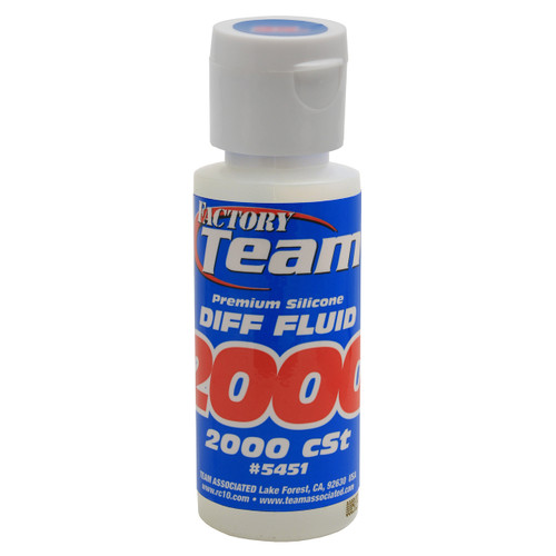 Team Associated Silicone Diff Fluid 2oz