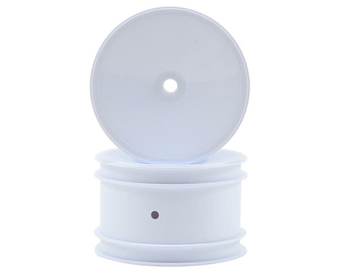 """Team Associated Rear Wheels 2.2"""" Buggy White (12mm hex)"""
