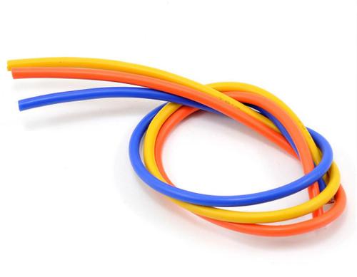 TQ Wire 13 Gauge Wire Kit 1' Yellow, Orange, and Blue TQ1304