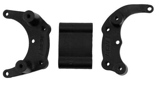 RPM 80902 Bumper Mount (Black) (Rustler,Stampede,Bandit, Slash)