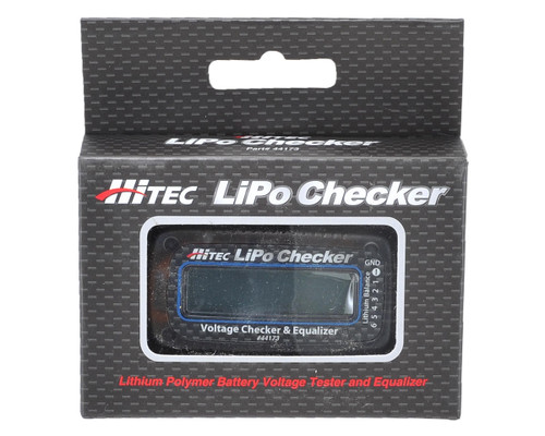 Hitec 44173 LiPo Battery Voltage Checker & Equalizer