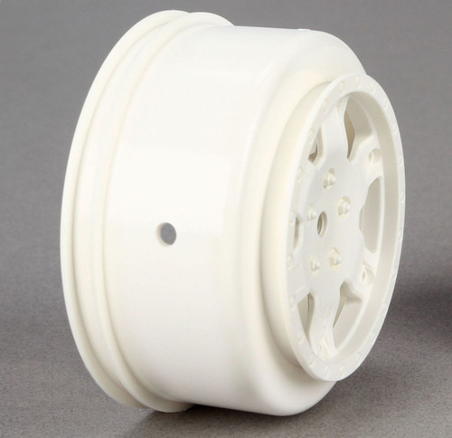 Team Losi Racing TLR7012 12mm Hex Short Course Wheels (2) (22SCT/TEN-SCTE) (White)