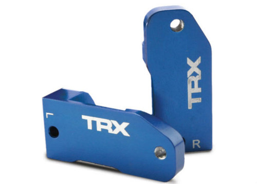 Traxxas 3632A L/R Aluminim Caster Blocks 30° (Blue)