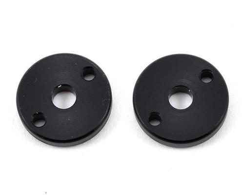 "Yokomo ""X"" Shock Piston (Black) (2) (2 Hole/1.6mm)"