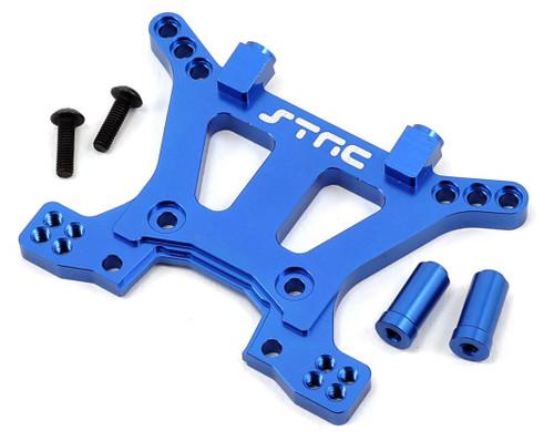 ST Racing Concepts Aluminum HD Front Shock Tower (Blue) (Slash 4x4)