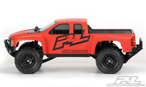 Pro-Line 3385-00 Chevy Silverado HD Body (Clear) (Slash/Slash 4x4)