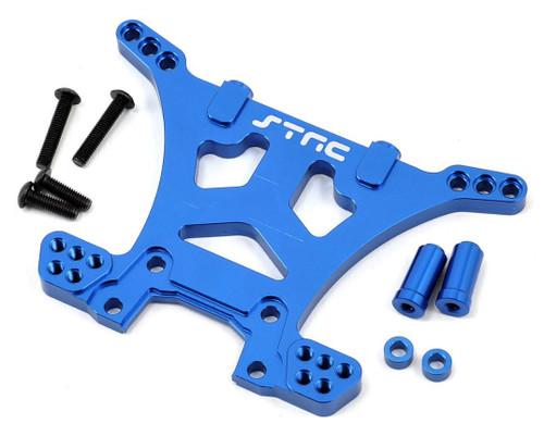 ST Racing Concepts Aluminum HD Rear Shock Tower (Blue) (Slash 4x4)