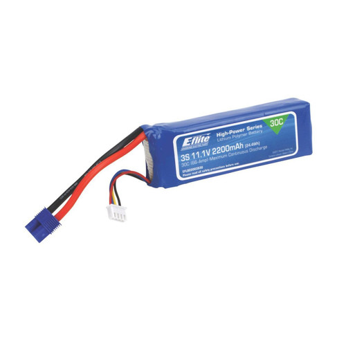 E-flite 2200mAh 3S 11.1V 30C LiPo Battery Pack