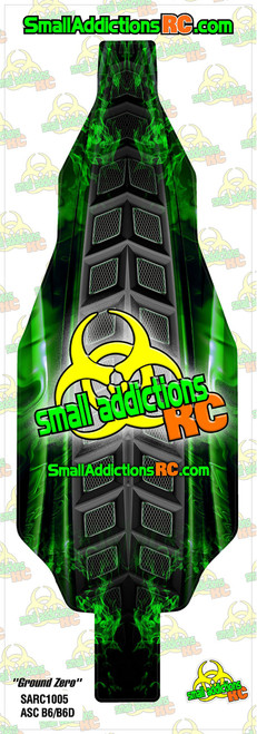 "Small Addictions RC (B6/B6D) ""Ground Zero"" Chassis Protector"