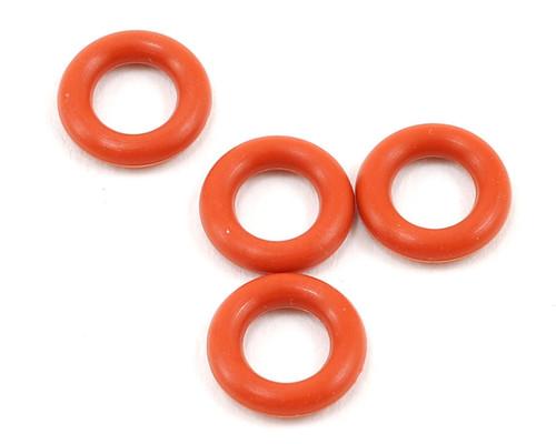 Yokomo BD-500GO Silicone Gear Differential O-Ring (Red) (4)