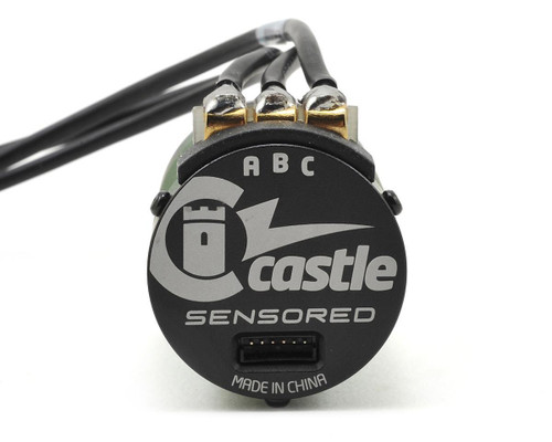 Castle Creations 1/10 Sensored Water Proof SV3 Sidewinder ESC w/ 4600kv Motor Combo