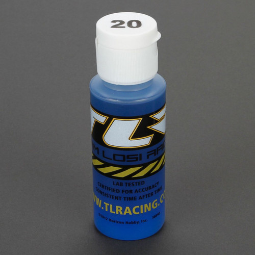 Team Losi Racing Silicone Shock Oil (2oz)