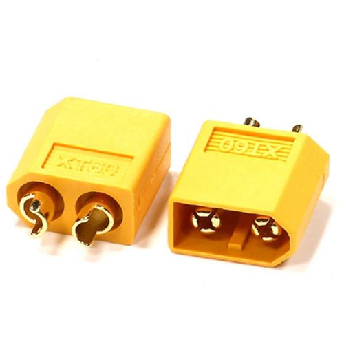 Integy 24547 XT60 Connector (2) Male 3.5mm