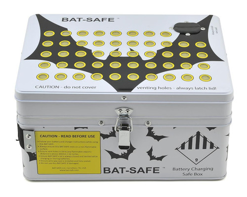 Bat-Safe LiPo Charging Case (Fire Resistant Safe Charging)