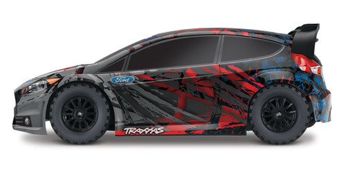 Traxxas Ford Fiesta ST RTR 1/10 4WD Rally Car w/TQ 2.4GHz Radio