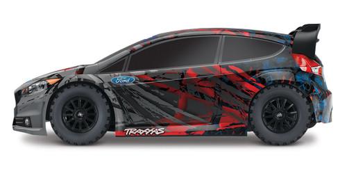 Traxxas Ford Fiesta ST RTR 1/10 4WD Rally Car w/TQ 2.4GHz Radio